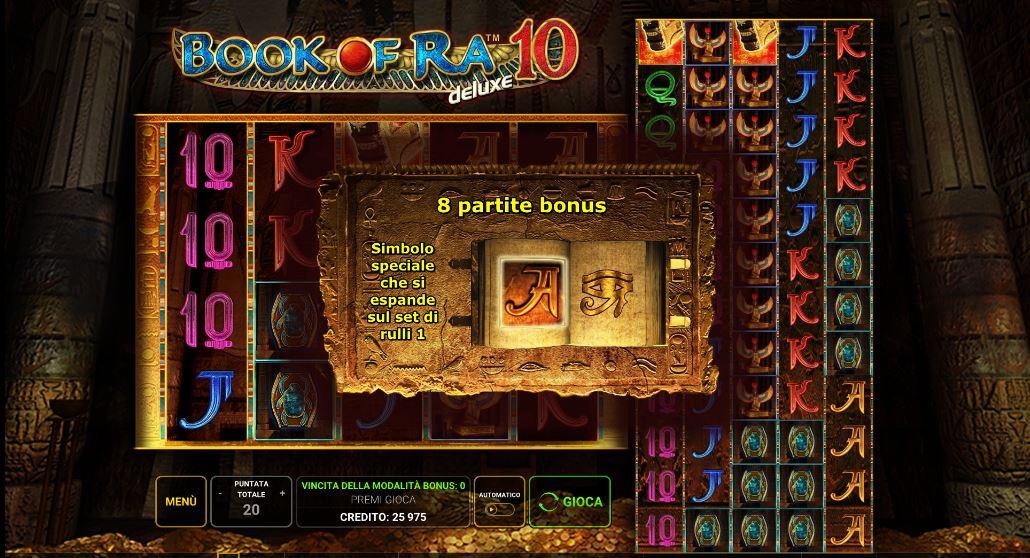 Bonus Game Book Of Ra Deluxe 10