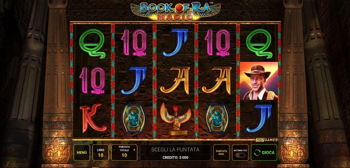 Slot Book Of Ra Magic