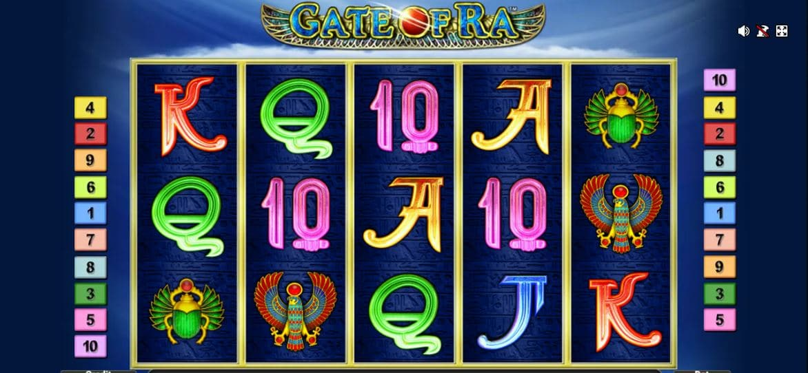 Slot machine Gate Of Ra