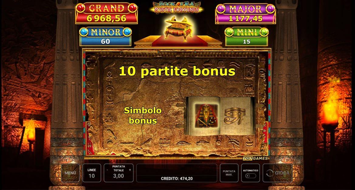 Gioco Bonus Book Of Ra Mystic Fortunes