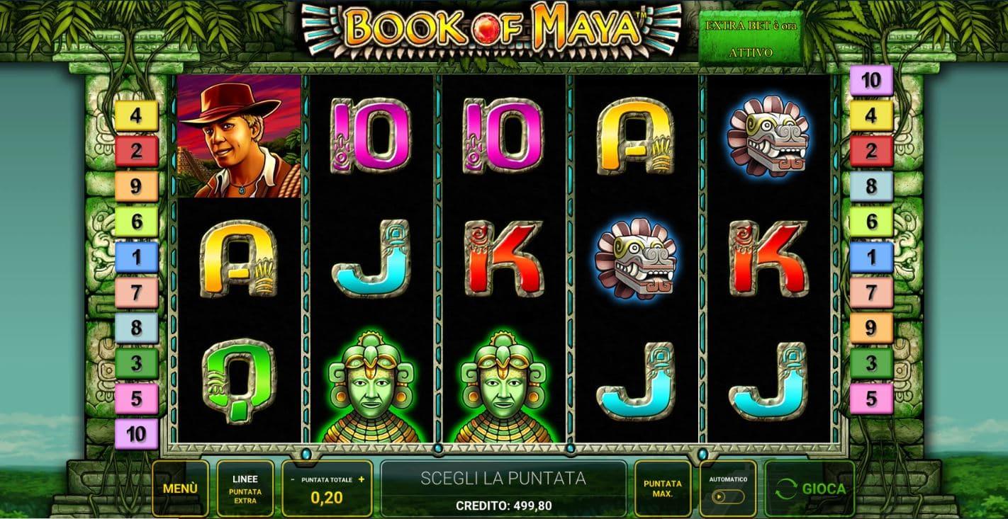 Gioco principale Book Of Maya Online