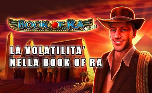 Volatilità Book Of Ra