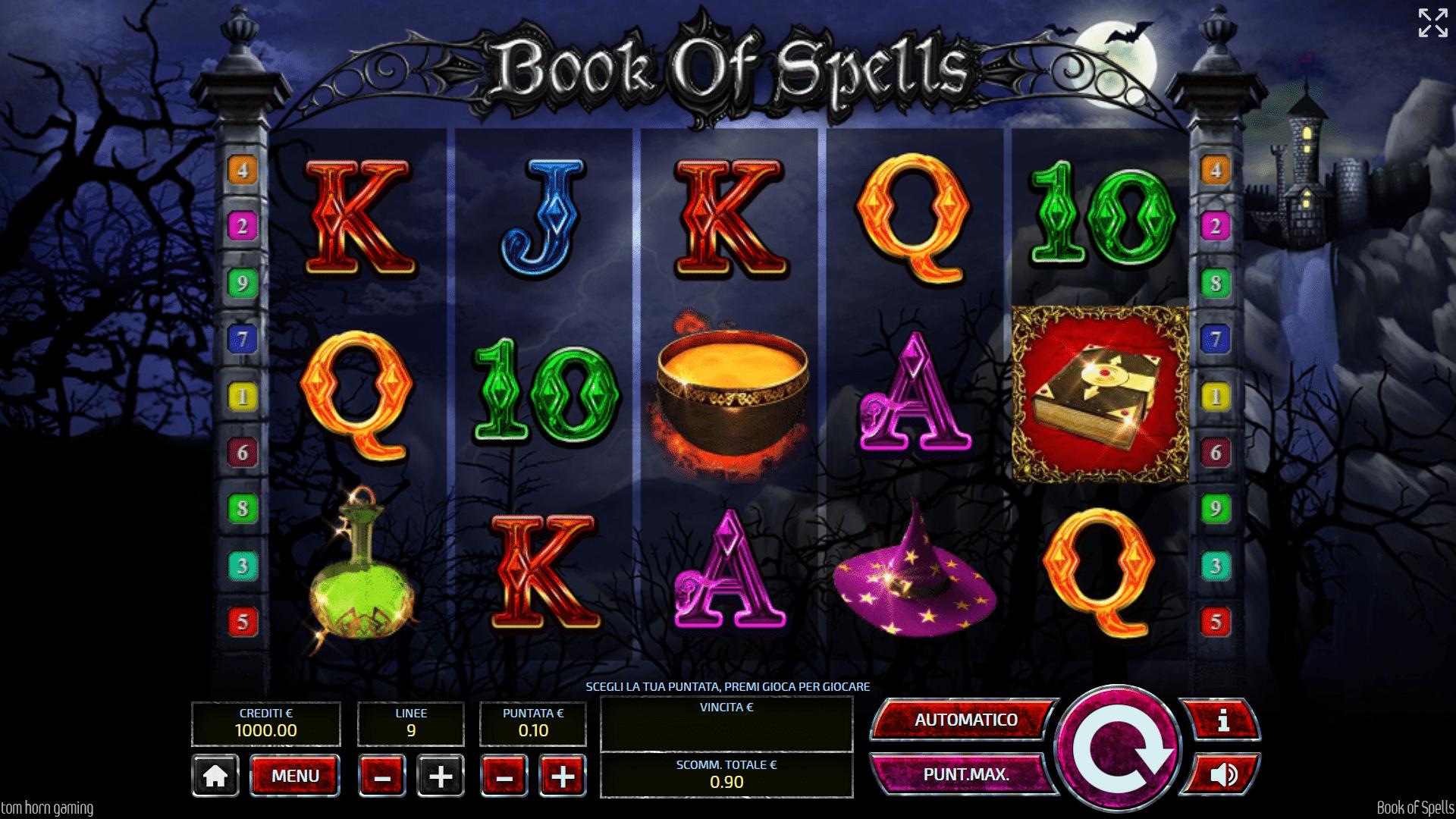 Book Of Spells Gratis