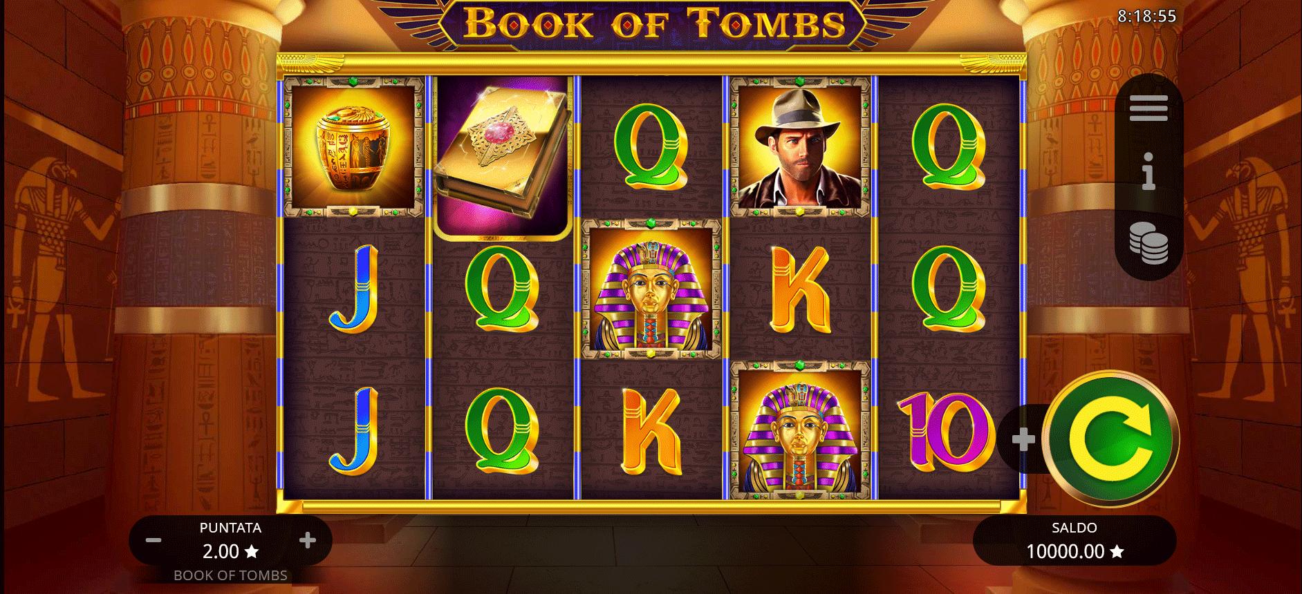 Book of Tombs Gratis