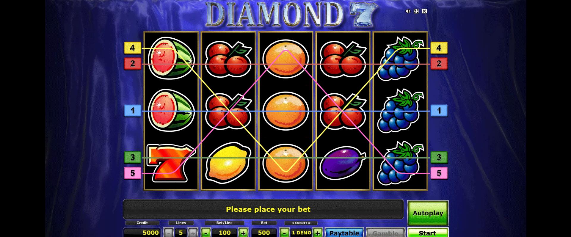 Diamond 7 Gratis