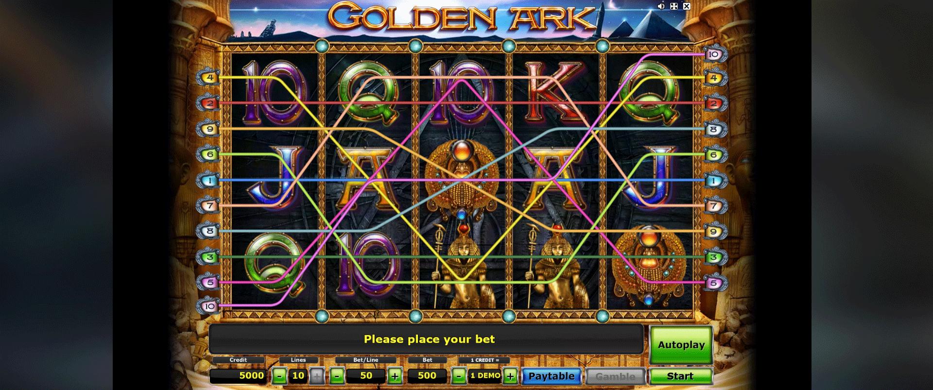 Golden Ark Gratis