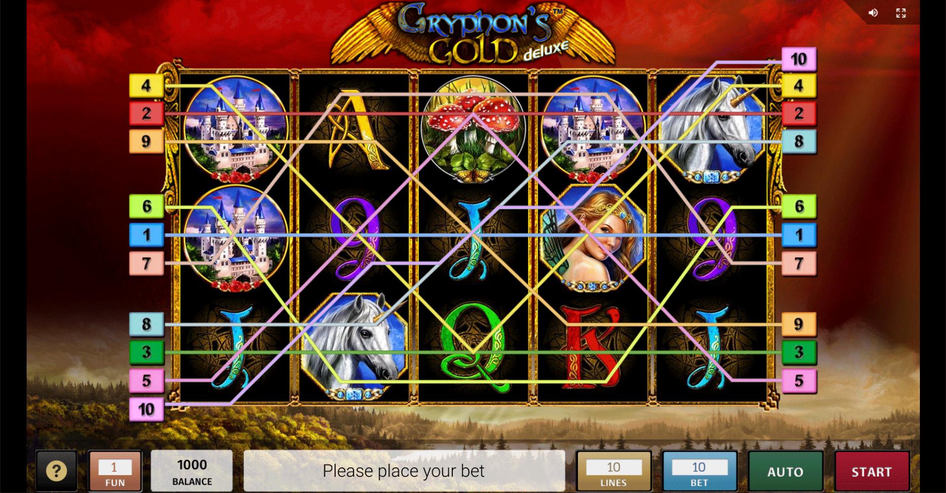 Gryphon's Gold Deluxe Gratis