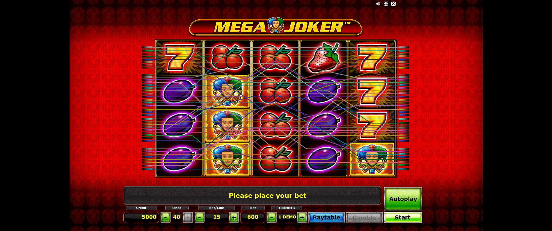 Mega Joker Gratis
