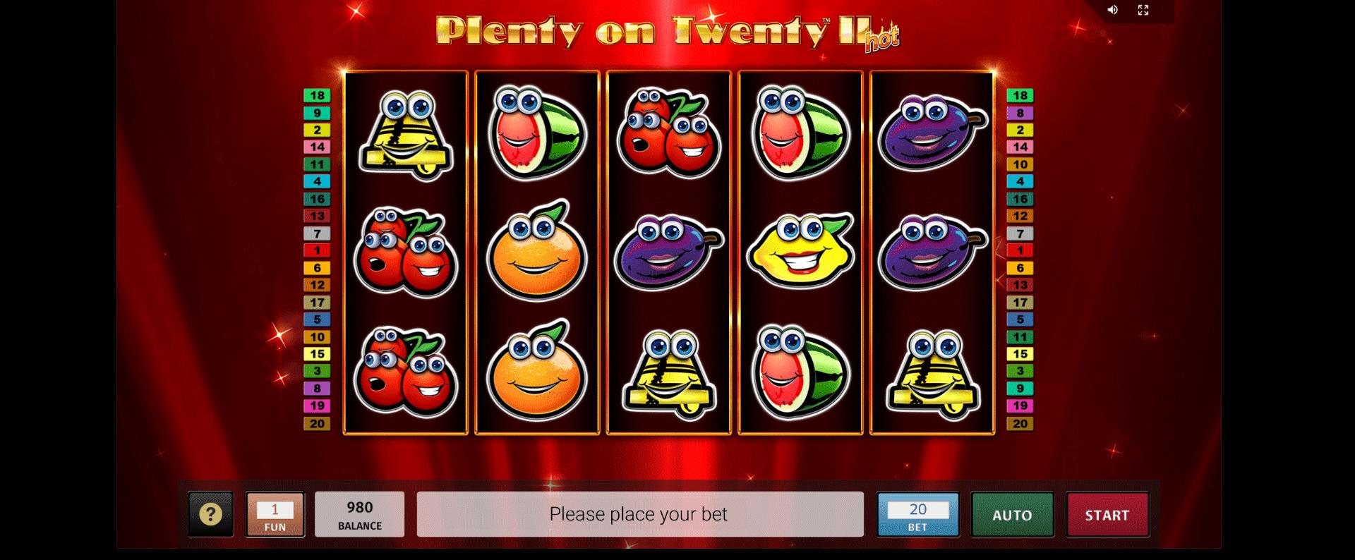 Plenty on Twenty II Hot Gratis